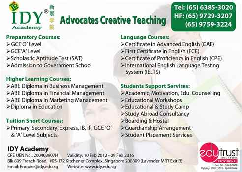 ABE Diploma Courses at IDY Academy